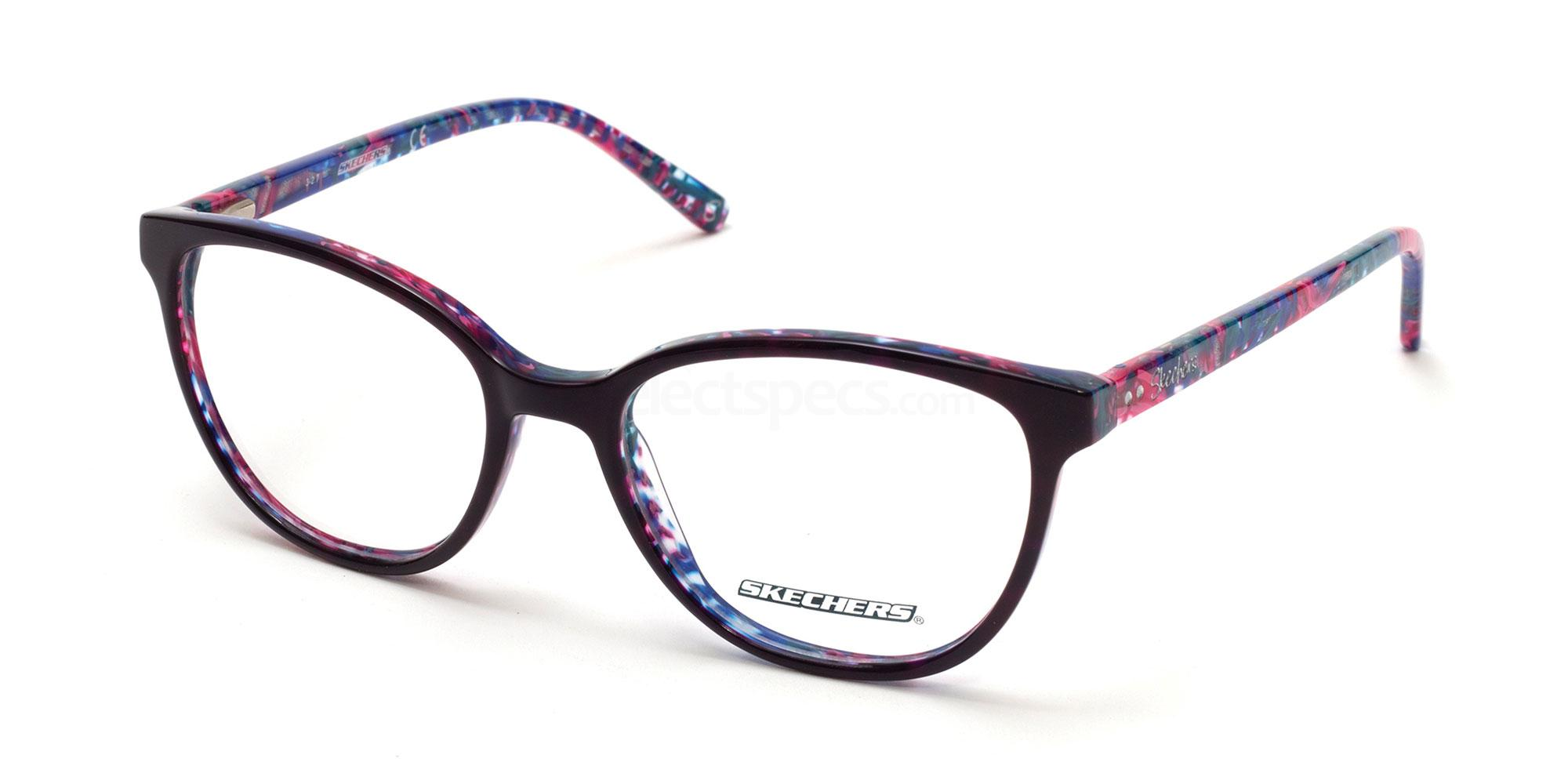 001 SE2137 Glasses, Skechers