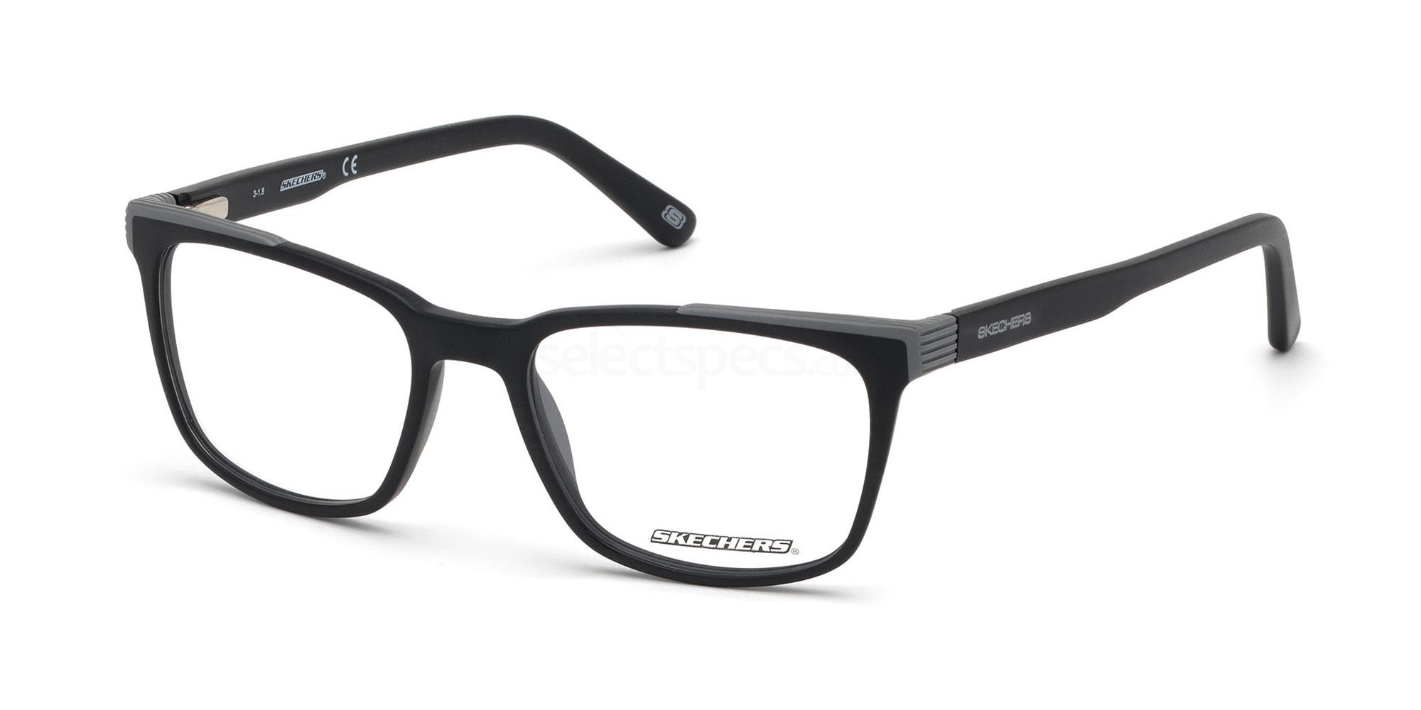 002 SE3227 Glasses, Skechers