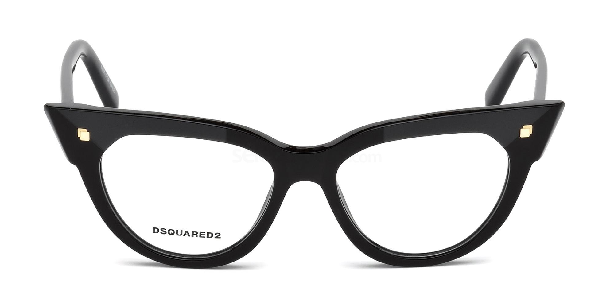 001 DQ5235 Glasses, DSQUARED2