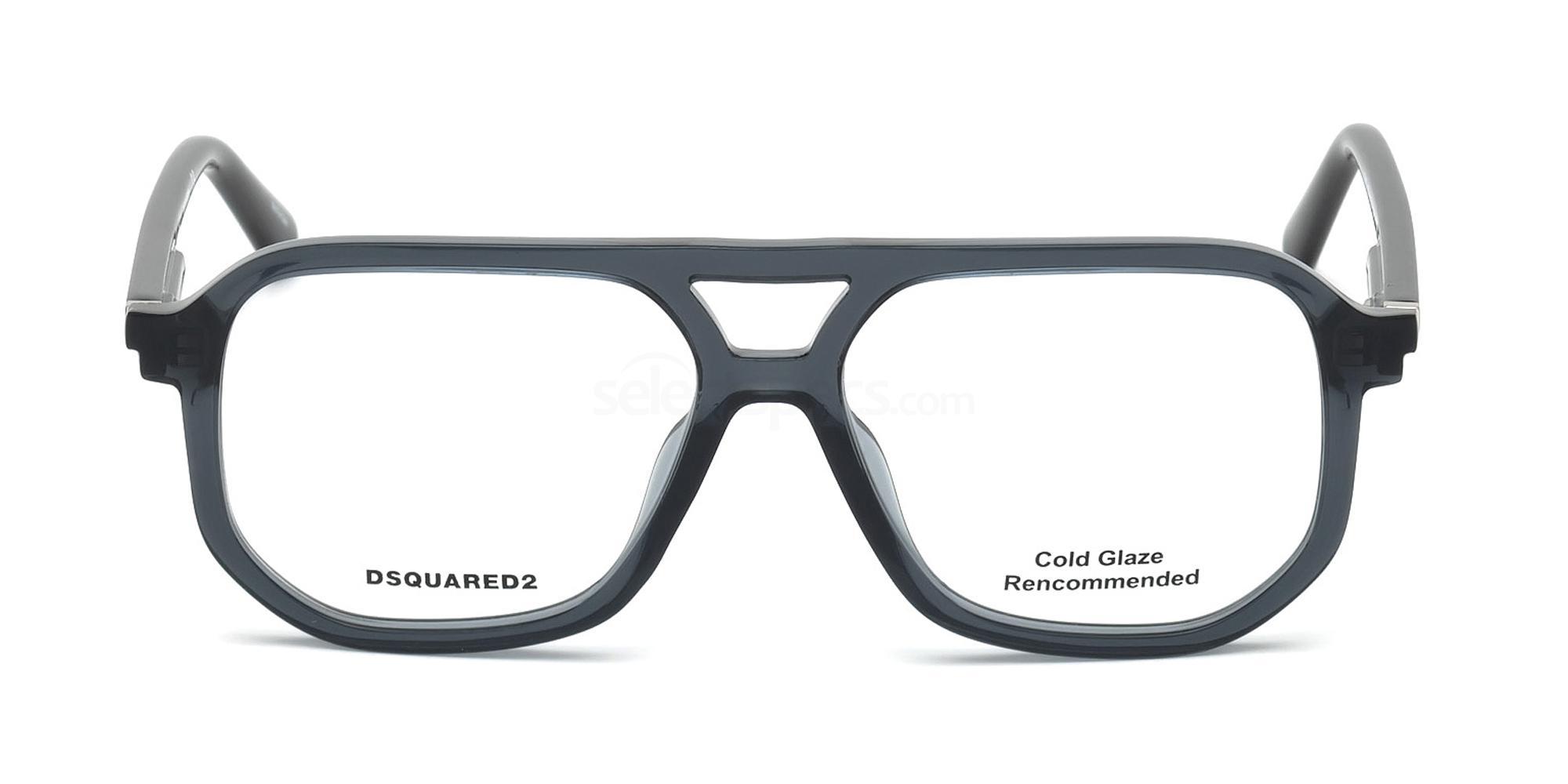 020 DQ5250 Glasses, DSQUARED2