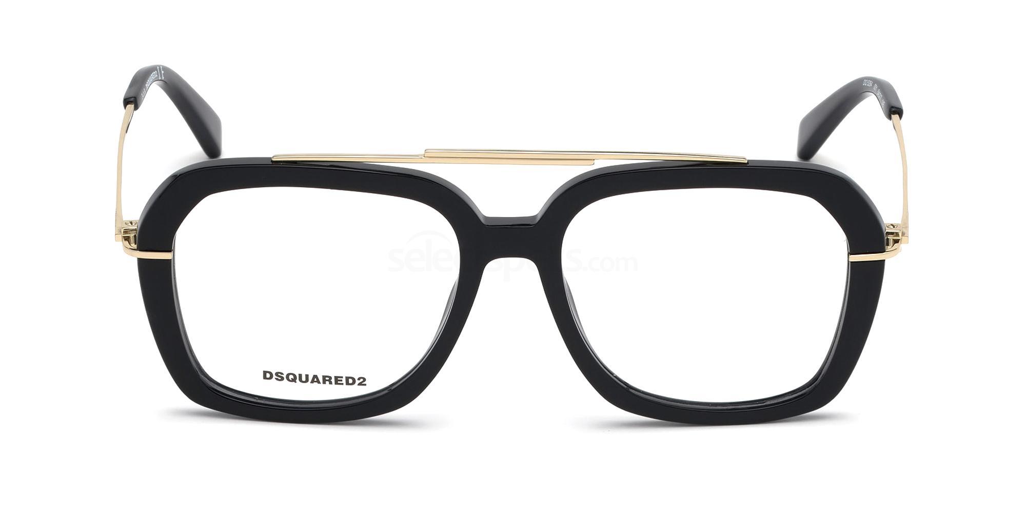 001 DQ5264 Glasses, DSQUARED2