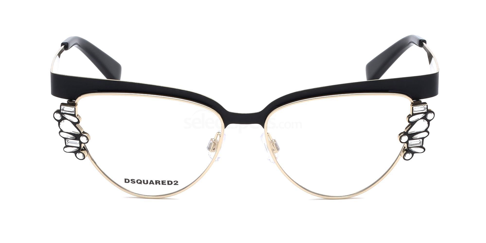 002 DQ5276 Glasses, DSQUARED2