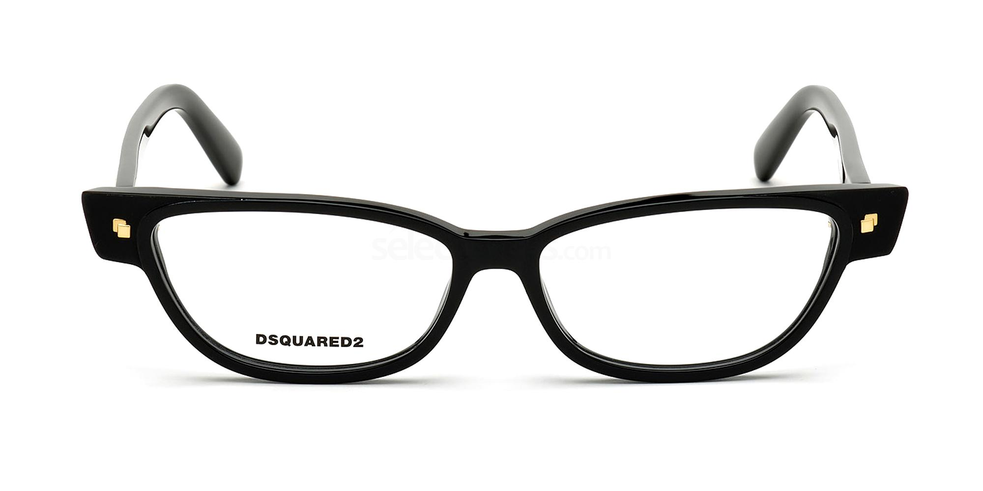 001 DQ5300 Glasses, DSQUARED2