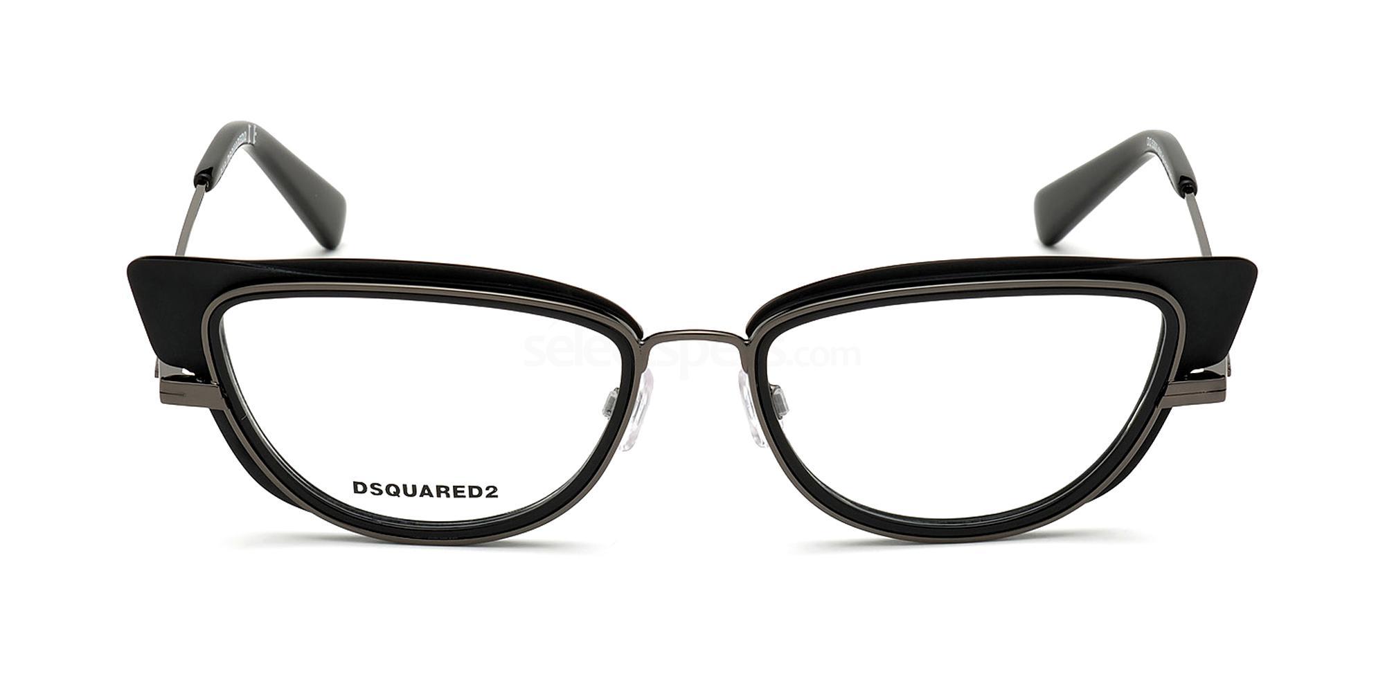 002 DQ5303 Glasses, DSQUARED2