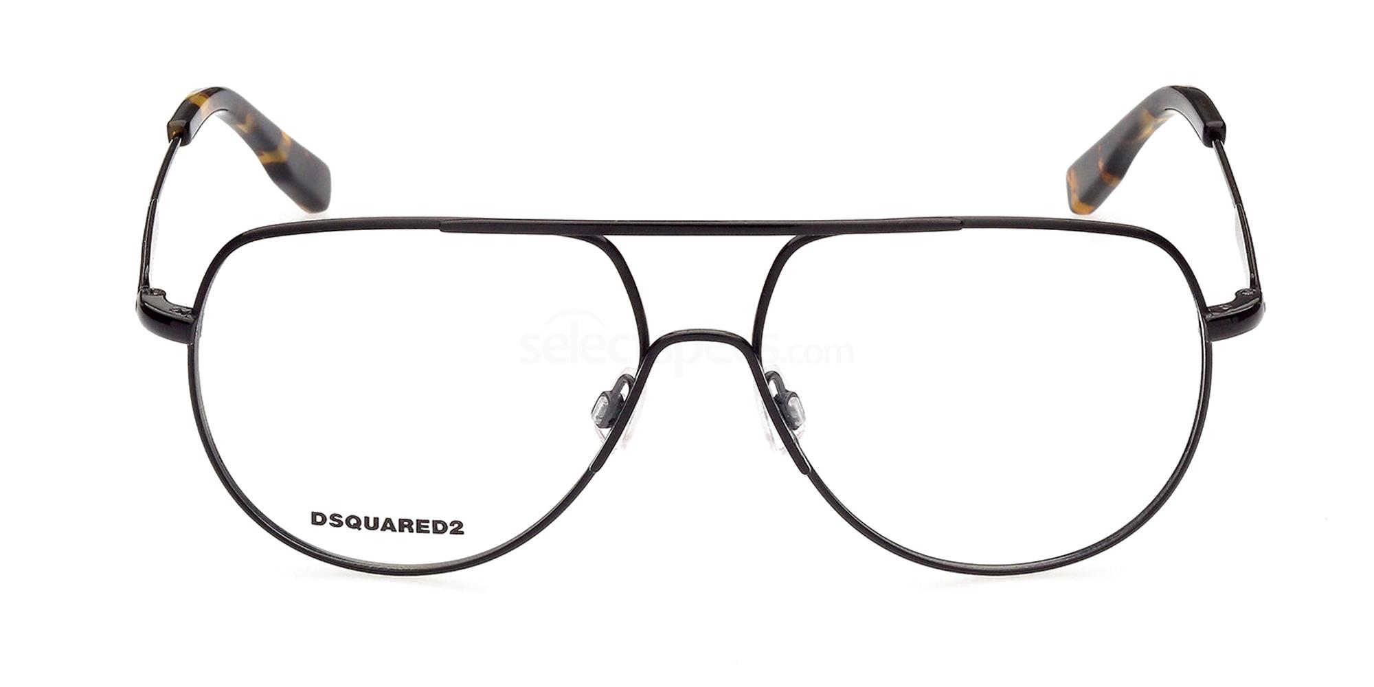 001 DQ5315 Glasses, DSQUARED2