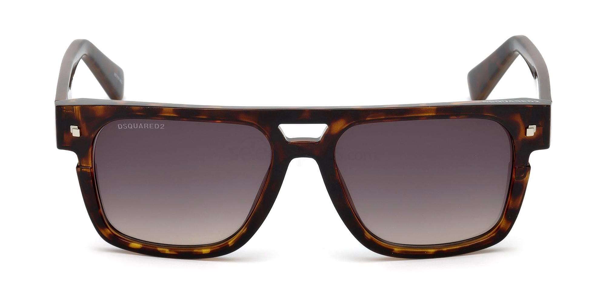 52B DQ0294 VICTOR Sunglasses, DSQUARED2