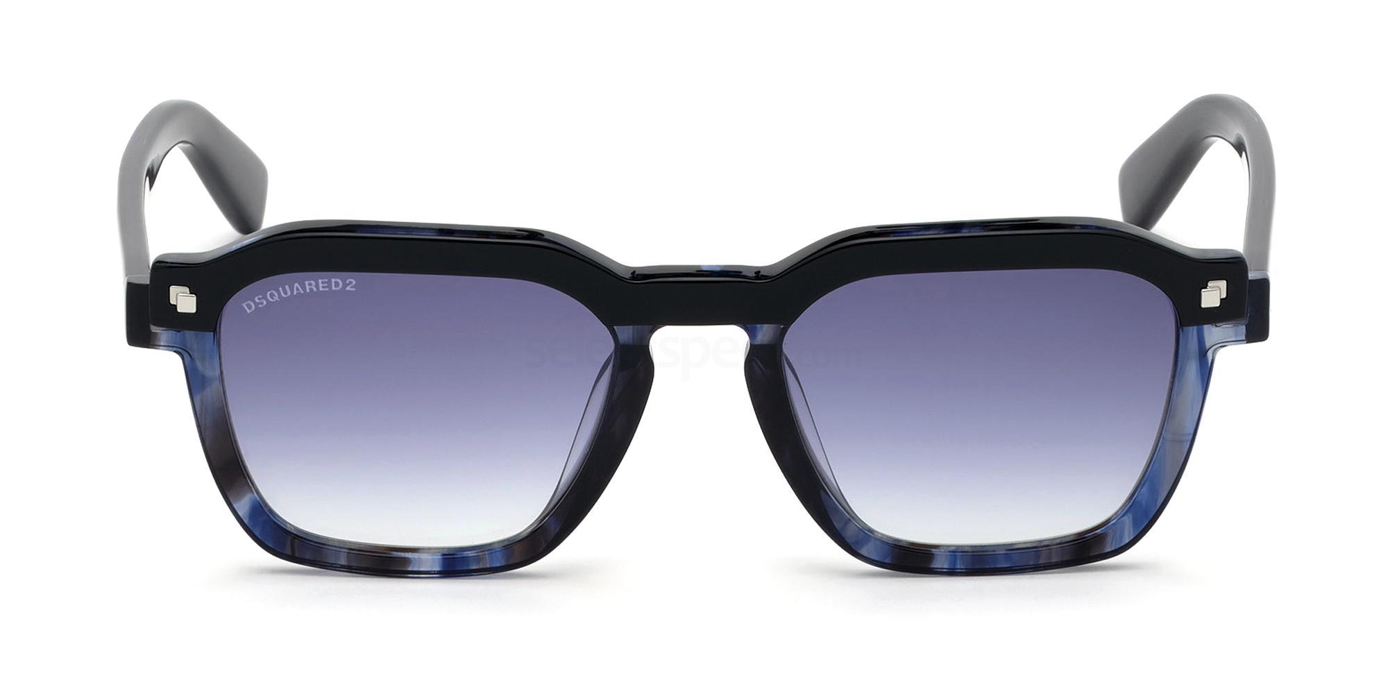 92W DQ0303 CLAY Sunglasses, DSQUARED2