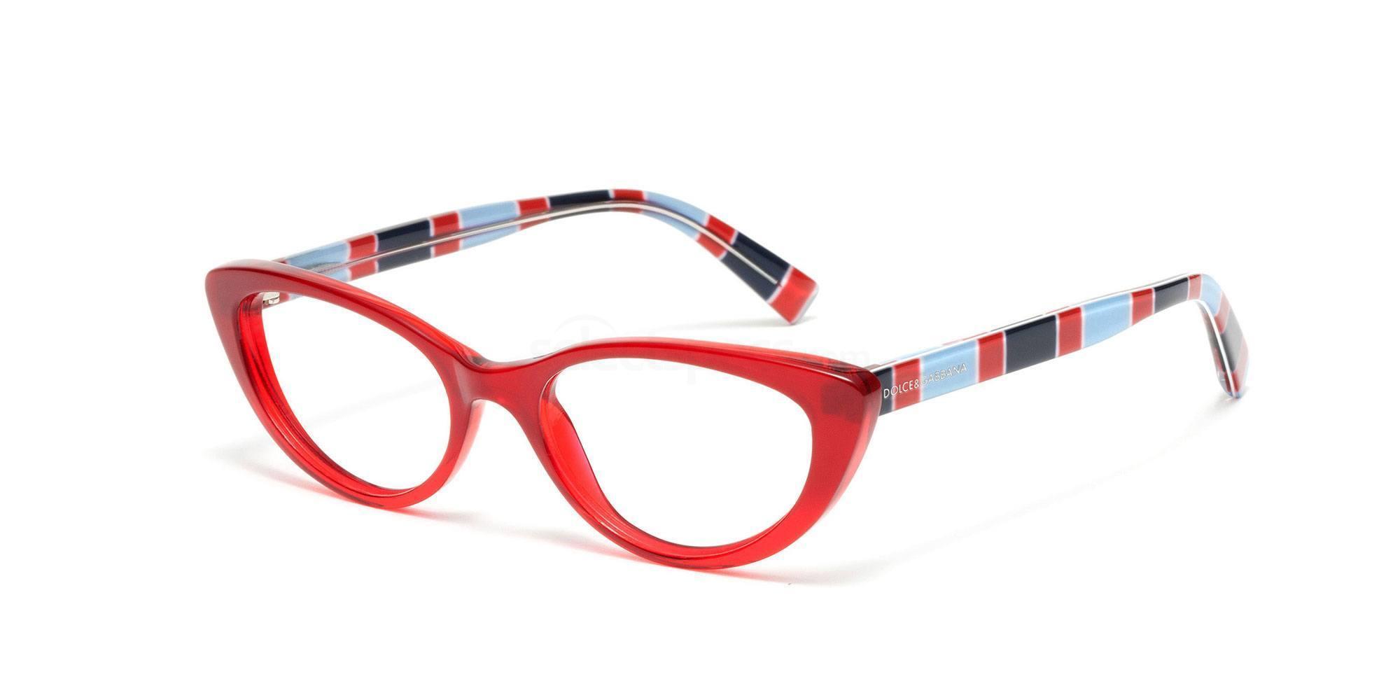 Dolce Gabbana stripe glasses SS16