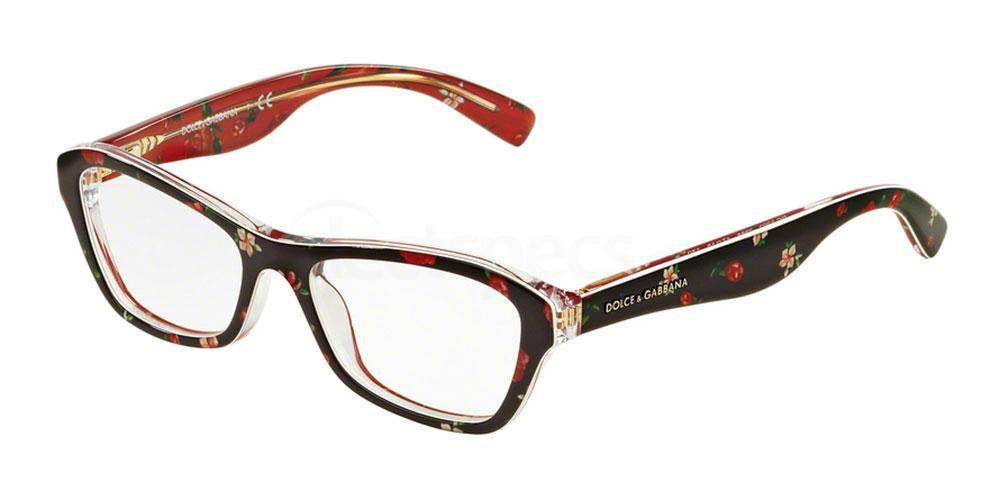 2986 DG3202 ALMOND FLOWERS Glasses, Dolce & Gabbana