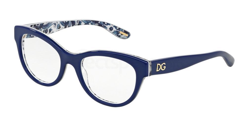 2992 DG3203 ALMOND FLOWERS Glasses, Dolce & Gabbana