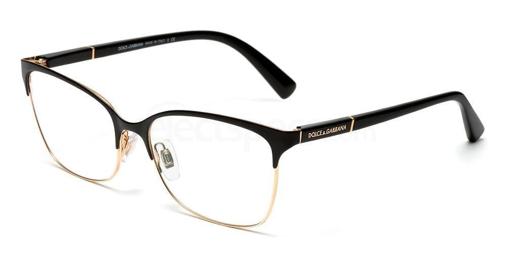 025 DG1268 LOGO PLAQUE Glasses, Dolce & Gabbana