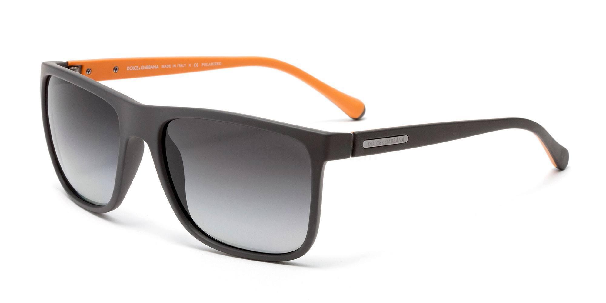 2809T3 DG6086 OVER-MOLDED RUBEBR Sunglasses, Dolce & Gabbana