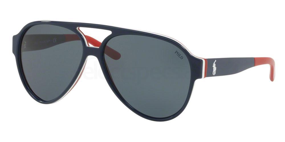 566787 PH4130 Sunglasses, Polo Ralph Lauren
