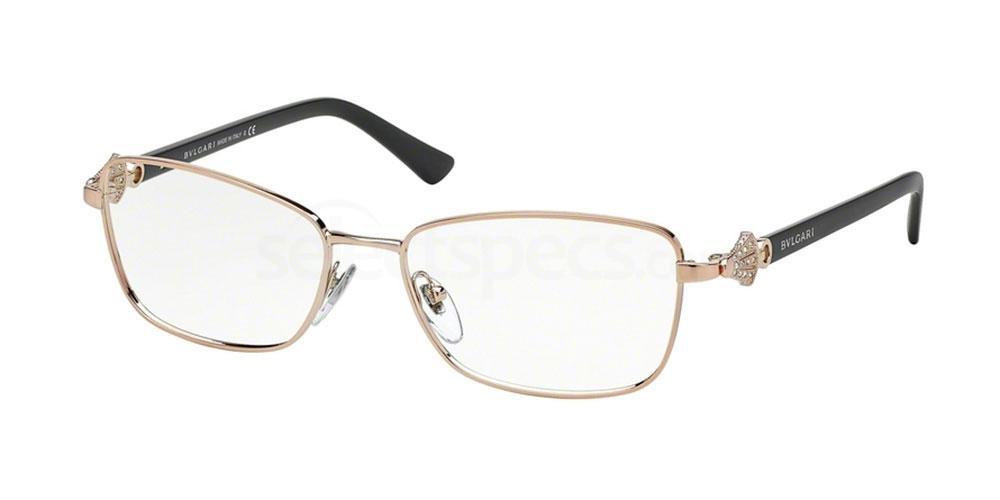 376 BV2170B Glasses, Bvlgari