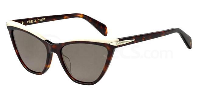 086 (70) RNB1021/S Sunglasses, Rag&Bone