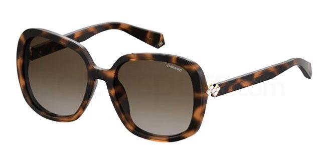086 (LA) PLD 4064/F/S/X Sunglasses, Polaroid