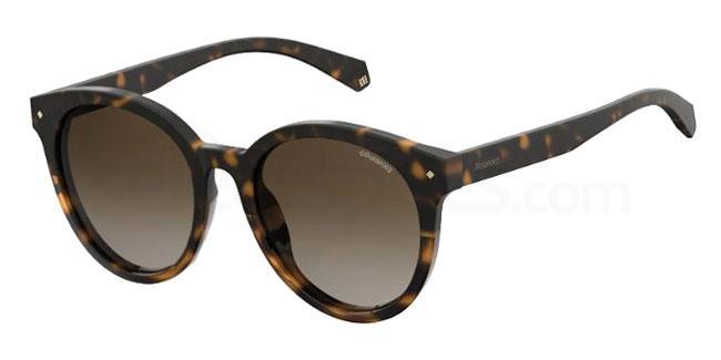 086 (LA) PLD 6043/F/S Sunglasses, Polaroid