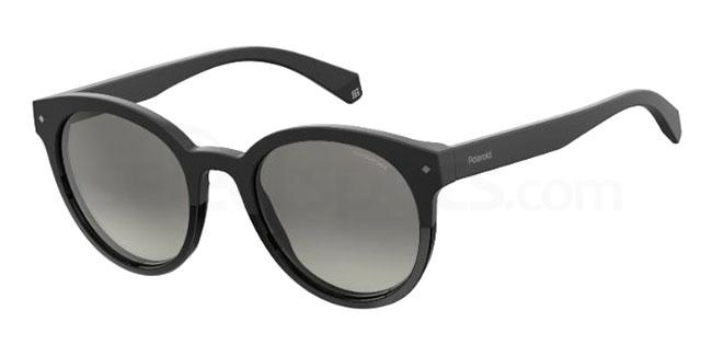 black sunglasses polaroid womens