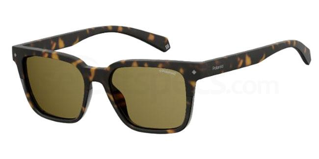 086 (SP) PLD 6044/S Sunglasses, Polaroid