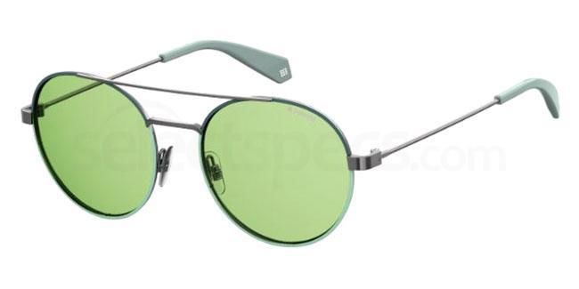 1ED (UC) PLD 6056/S Sunglasses, Polaroid