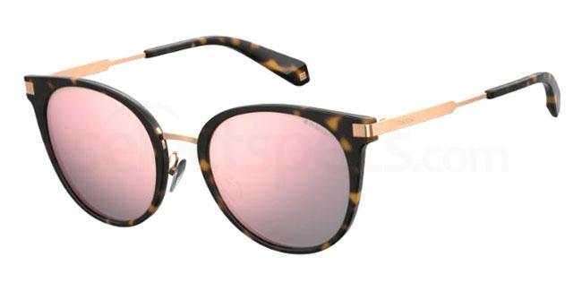 086 (0J) PLD 6061/F/S Sunglasses, Polaroid