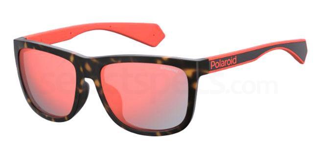 086 (OZ) PLD 6062/F/S Sunglasses, Polaroid