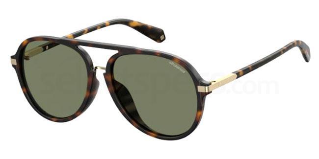086 (UC) PLD 2077/F/S Sunglasses, Polaroid