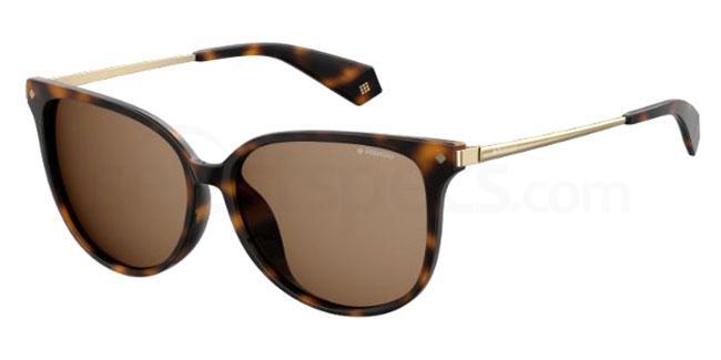 086 (SP) PLD 4076/F/S Sunglasses, Polaroid