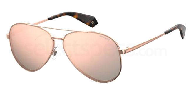 210 (0J) PLD 6069/S/X Sunglasses, Polaroid