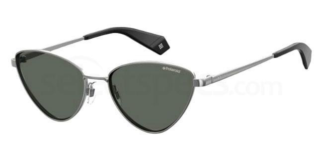 6LB (M9) PLD 6071/S/X Sunglasses, Polaroid