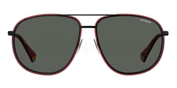 GUU (M9) PLD 6118/G/S Sunglasses, Polaroid