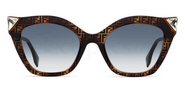 086 (08) FF 0357/G/S Sunglasses, Fendi