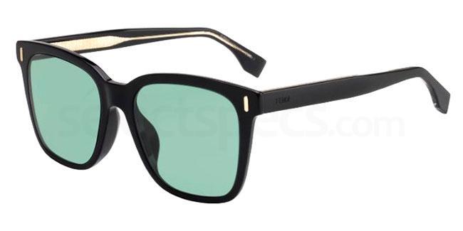 807 (QT) FF M0053/F/S Sunglasses, Fendi