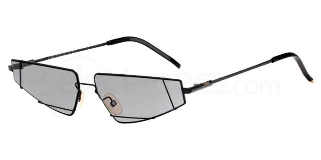 Fendi FF M0054/S Skinny Geometric Sunglasses