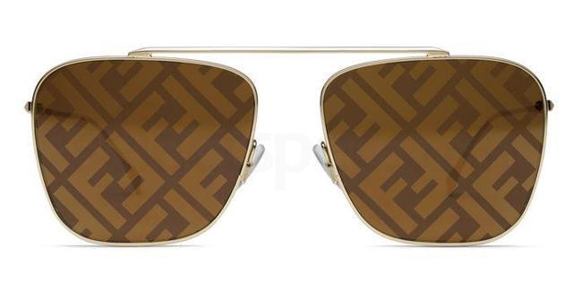 01Q (EB) FF 0406/S Sunglasses, Fendi