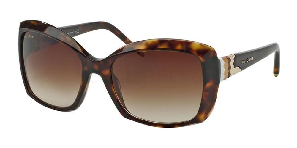 Bulgari sunglasses brown