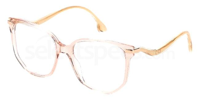 AW20 eyewear trends transparent glasses warm tones nude