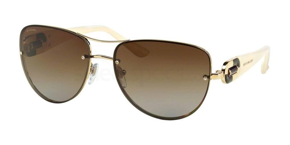 278/T5 BV6053BM Sunglasses, Bvlgari