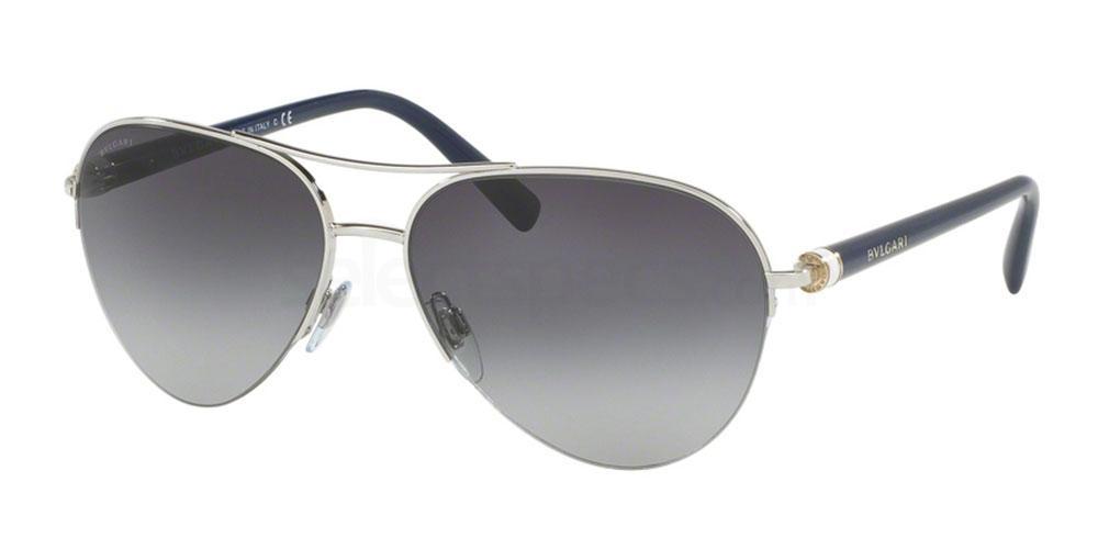 102/8G BV6084 Sunglasses, Bvlgari