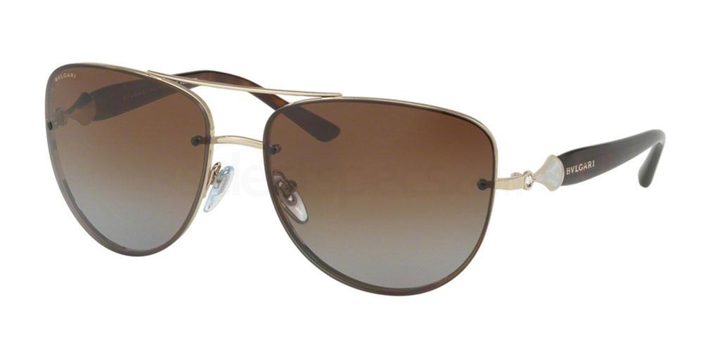278/T5 BV6086B Sunglasses, Bvlgari