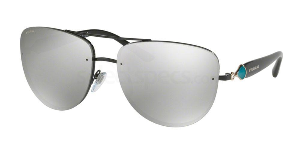239/6G BV6086B Sunglasses, Bvlgari