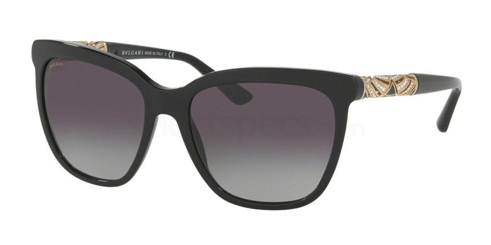 black squared sunglasses