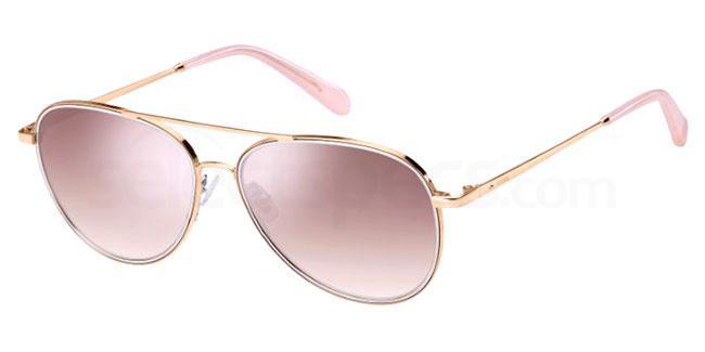 000 (NQ) FOS 2096/G/S Sunglasses, Fossil