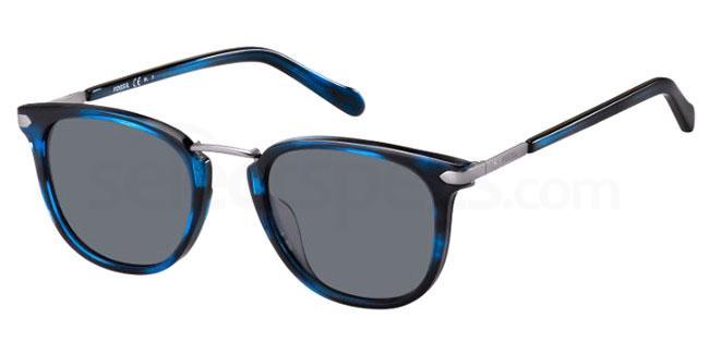 38I (IR) FOS 2099/G/S Sunglasses, Fossil