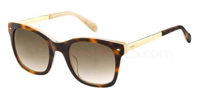XLT (HA) FOS 2086/S Sunglasses, Fossil