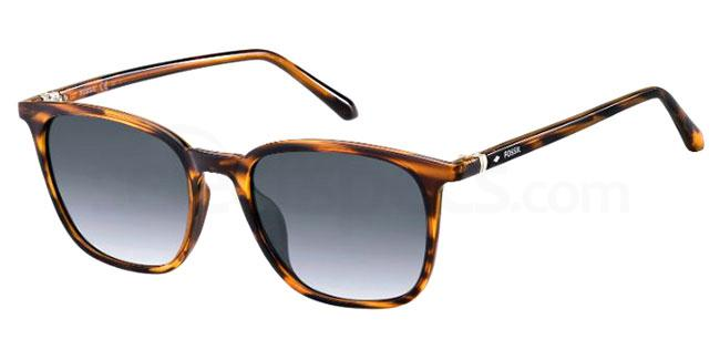 086 (9O) FOS 3091/S Sunglasses, Fossil