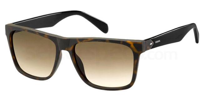 N9P (HA) FOS 3066/S Sunglasses, Fossil