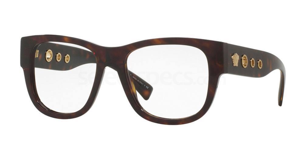 108 VE3230 Glasses, Versace
