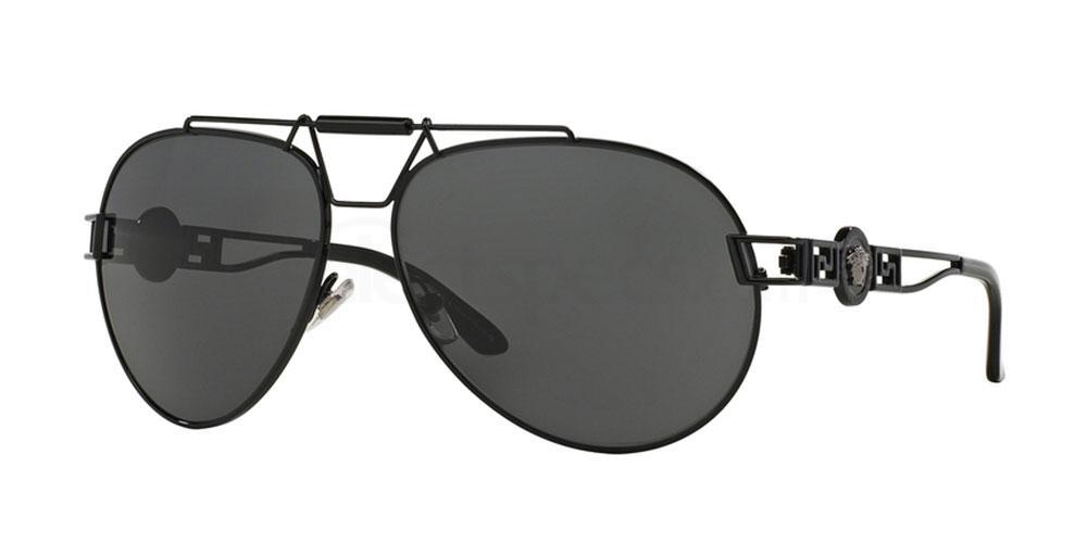 100987 VE2160 Sunglasses, Versace