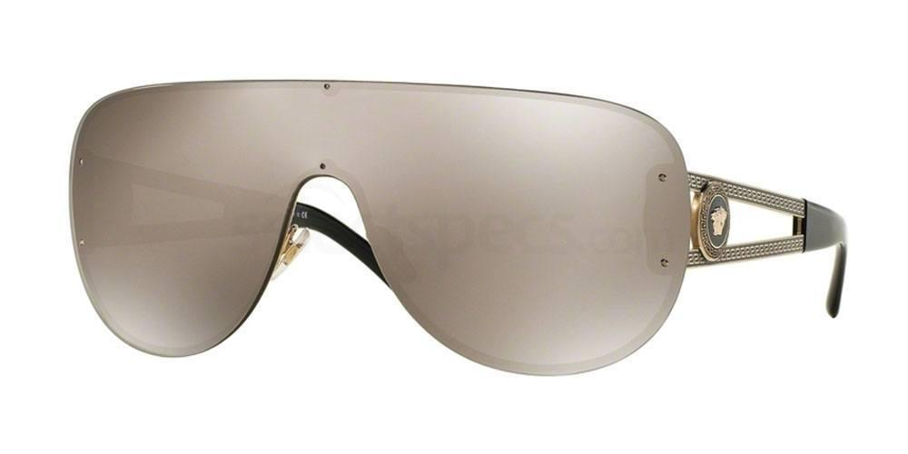 versace one piece lens aviator womens uk